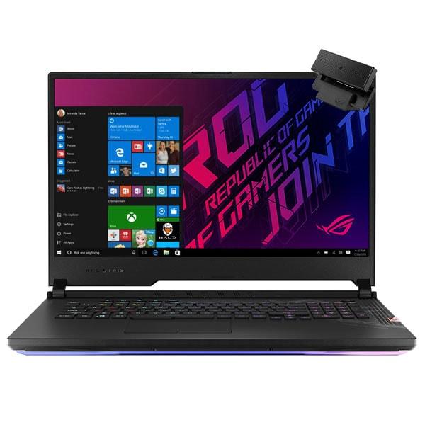 "Laptop Gaming ASUS ROG Strix Scar 17 G732LXS-HG074T, Intel Core i9-10980HK pana la 5.3GHz, 17.3"" Full HD, 32GB, SSD 1TB, NVIDIAGeForceRTX2080Super 8GB, WebCam, Windows 10 Home, negru"