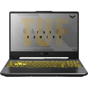 "Laptop Gaming ASUS TUF A15 FA506IV-HN216, AMD Ryzen 9-4900H pana la 4.4GHz, 15.6"" Full HD, 16GB, SSD 512GB, NVIDIA GeForce RTX 2060 6GB, Free DOS, gri inchis"
