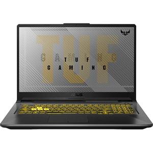 "Laptop Gaming ASUS TUF F17 FX706LI-H7003, Intel Core i7-10750H pana la 5.0GHz,17.3"" Full HD, 16GB, SSD 512GB, NVIDIA GeForce GTX 1650Ti 4GB, Free DOS, gri inchis"