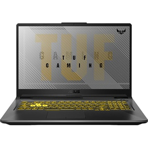"Laptop Gaming ASUS TUF A17 FA706IU-H7023, AMD Ryzen 9-4900H pana la 4.4GHz, 17.3"" Full HD, 16GB, SSD 512GB, NVIDIA GeForce GTX 1660Ti 6GB, Free DOS, gri inchis"