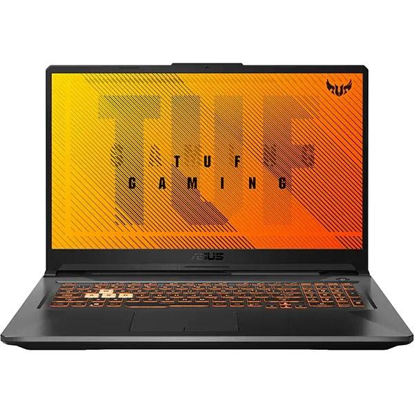 "Laptop Gaming ASUS TUF A17 FA706II-AU016, AMD Ryzen 5 4600H pana la 4.0GHz, 17.3"" Full HD, 16GB, SSD 512GB, NVIDIA GeForce GTX 1650Ti 4GB, Free DOS, negru"
