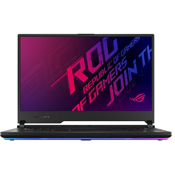 "Laptop Gaming ASUS ROG Strix Scar 17 G732LV-EV030, Intel Core i7-10875H pana la 5.1GHz, 17.3"" Full HD, 8GB, SSD 512GB, NVIDIA GeForce RTX 2060 Super 6GB, Free DOS, negru"