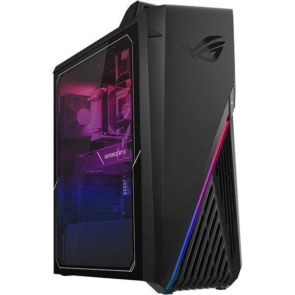 Sistem Desktop Gaming ASUS ROG Strix GT15 G15CK-RO042D, Intel Core i5-10400F pana la 4.3GHz, 16GB, SSD 1TB, NVIDIA GeForce GTX 1660 Super 6GB, Free DOS