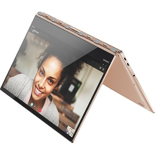 "Laptop 2 in 1 LENOVO Yoga 920-13IKB, Intel Core i7-8550U pana la 4.0GHz, 13.9"" 4K Touch Display, 8GB, SSD 512GB, Intel UHD Graphics 620, Windows 10 Home"