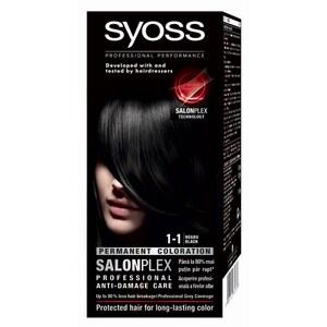 Vopsea de par SYOSS Color Bl, 1-1 Negru, 115ml