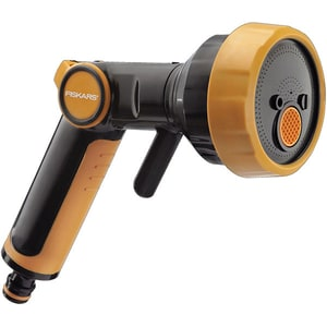 Pistol universal pentru stropit FISKARS 1020446, 4 programe, negru-portocaliu