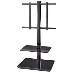 Stand TV podea HAMA 108764, 81-140 cm, negru