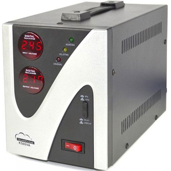 Stabilizator de tensiune SILVERCLOUD PNI-SCK500V, 300W