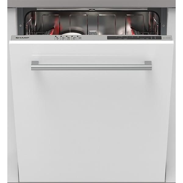 Masina de spalat vase incorporabila SHARP QW-NI14I47EX-EU, 13 seturi, 5 programe, 60 cm, Clasa E