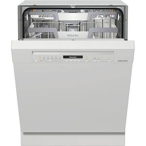 Masina de spalat vase semi-incorporabila MIELE G 7100 SCI BRWS, 14 seturi, 8 programe, Clasa C, alb