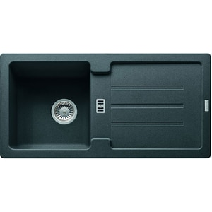 Chiuveta bucatarie FRANKE STG614-86, 1 cuva, picurator reversibil, compozit granit, grafit