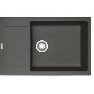 Chiuveta bucatarie FRANKE MRG611-78/49, 1 cuva, picurator reversibil, compozit granit, grafit