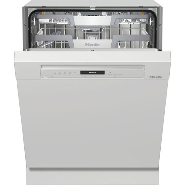 Masina de spalat vase semi-incorporabila MIELE G 7310 SCI BRWS, 14 seturi, 8 programe, Clasa C, alb