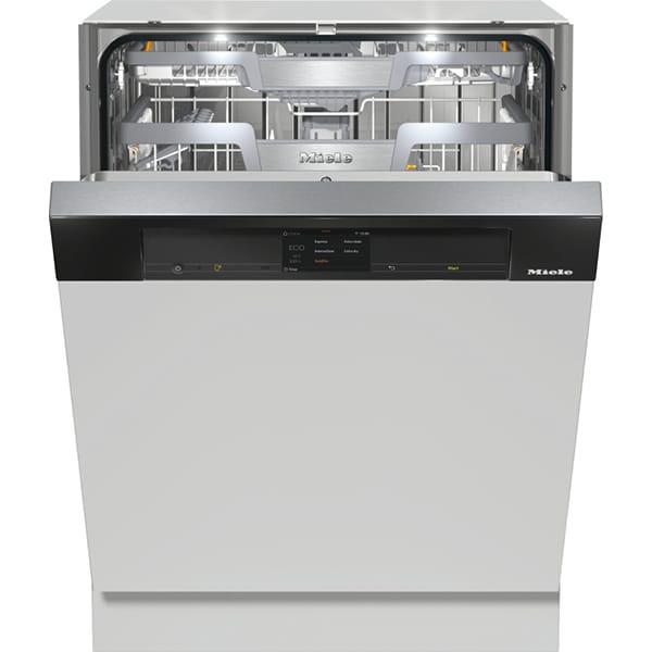 Masina de spalat vase semi-incorporabila MIELE G 7910 SCI OBSW, 14 seturi, 10 programe, Clasa C, negru