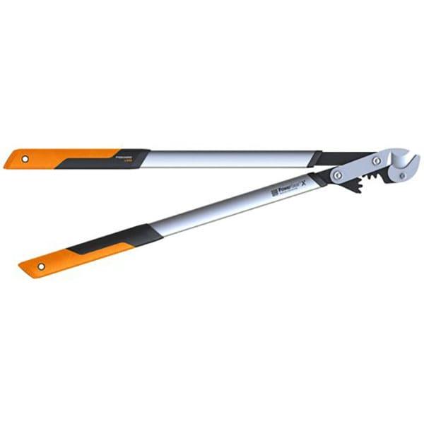 Foarfeca pentru ramuri groase Fiskars PowerGearX - L, nicovala, 80cm, otel