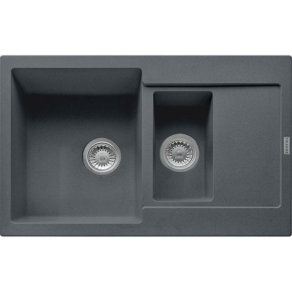Chiuveta bucatarie FRANKE MRG651-78, 1 1/2 cuve, picurator reversibil, compozit granit, grafit