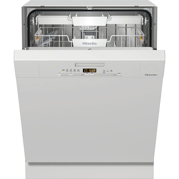 Masina de spalat vase semi-incorporabila MIELE G 5000 SCI BRWS, 14 seturi, 5 programe, Clasa A++, alb
