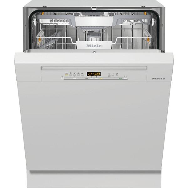 Masina de spalat vase semi-incorporabila MIELE G 5210 SCI BRWS, 14 seturi, 5 programe, Clasa C, alb