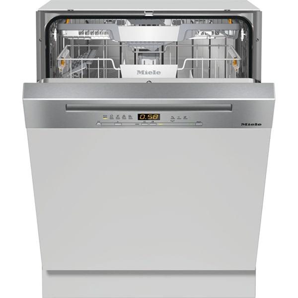 Masina de spalat vase semi-incorporabila MIELE G 5210 SCI EDST, 14 seturi, 5 programe, Clasa C, inox