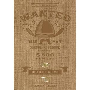 Set 5 notebook MAR MAR Wanted, dictando, A4, 60 file, legatura cusuta, diverse modele