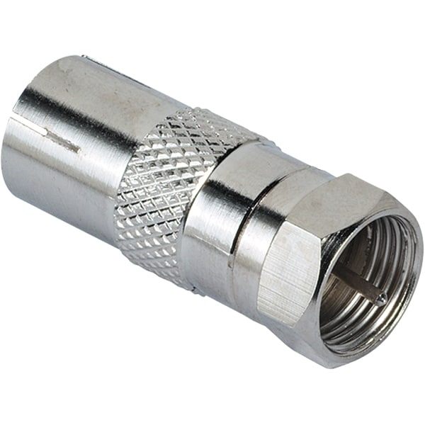 Adaptor SAT HAMA 122486, conector F - soclu coaxial