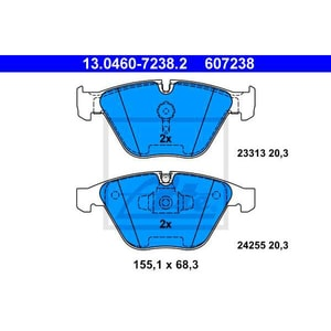 Placute frana fata ATE 13046072382, BMW