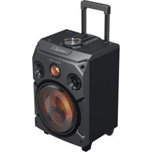 Sistem audio MUSE Trolly M-1915 DJ, Radio FM, USB, Bluetooth, 150W, negru