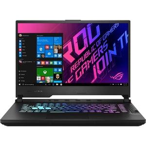 "Laptop Gaming ASUS ROG Strix G15 G512LW-HN037T, Intel Core i7-10750H pana la 5GHz, 15.6"" Full HD, 16GB, SSD 512GB, NVIDIAGeForceRTX 2070 8GB, Windows 10 Home, negru"