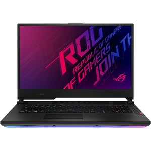 "Laptop Gaming ASUS ROG Strix Scar 17 G732LXS-HG066, Intel Core i9-10980HK pana la 5.3GHz, 17.3"" Full HD, 16GB, SSD 1TB, NVIDIA GeForce RTX 2080 Super 8GB, Free DOS, negru"