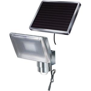 Lampa solara cu senzor de miscare BRENNENSTUHL 143946, 350 lumeni, IP44, argintiu