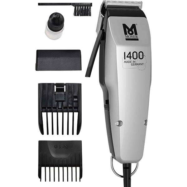 Aparat de tuns MOSER 1400 Edition 1406-0458, 0.7-3 mm, gri