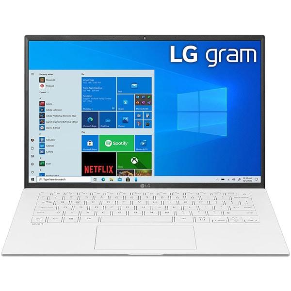 "Laptop LG Gram 14Z90P, Intel Core i5-1135G7 pana la 4.2GHz, 14"" WUXGA, 8GB, SSD 256GB, Intel Iris Xe Graphics, Windows 10 Home, alb"