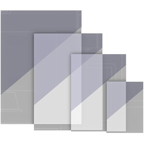 "Folie protectie pentru telefon CLEARPLEX, Ultra Film S, 6"", display, transparent mat"