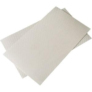 """Folie protectie pentru tableta CLEARPLEX, Fibra Carbon M, 7-8"""", spate, alb"""