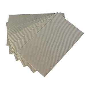 """Folie protectie pentru tableta CLEARPLEX, Fibra Carbon L, 9-11"""", spate, argintiu"""