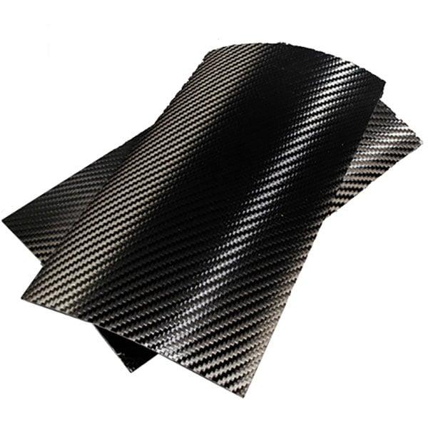 """Folie protectie pentru tableta CLEARPLEX, Fibra Carbon M, 7-8"""", spate, negru"""