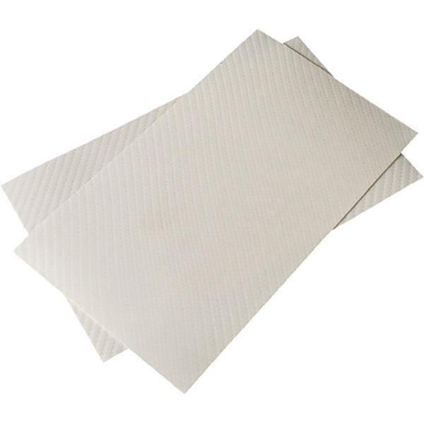 """Folie protectie pentru tableta CLEARPLEX, Fibra Carbon L, 9-11"""", spate, alb"""