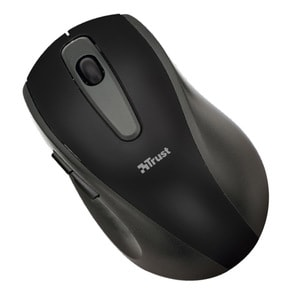 Mouse Wireless TRUST EasyClick, 1000 dpi, negru