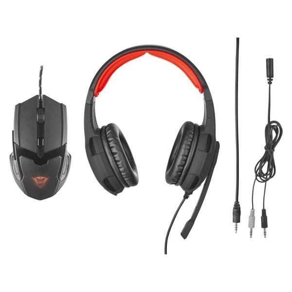 Kit Gaming TRUST mouse si casti GXT 784