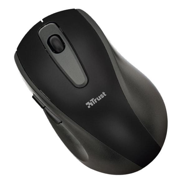 Mouse Wireless TRUST EasyClick, 1000 dpi, negru