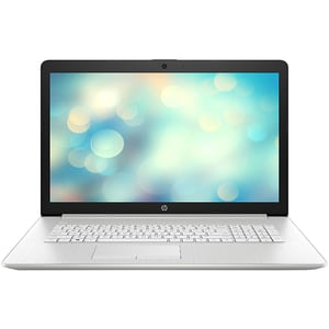 "Laptop HP 17-by3012nq, Intel Core i5-1035G1 pana la 3.6GHz, 17.3"" Full HD, 16GB, SSD 512GB, Intel UHD Graphics, Free DOS, argintiu"