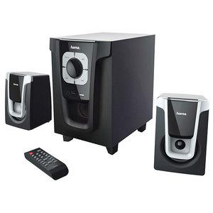 Boxe HAMA PR-2120, 2.1, 20W, Bluetooth, negru