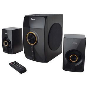 Boxe HAMA LPR-2180, 2.1, 80W, Bluetooth, negru