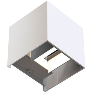 Aplica de perete cu LED HAMA 176564, 6W, Wi-Fi, alb