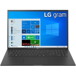 "Laptop LG Gram 17Z90P, Intel Core i7-1165G7 pana la 4.7GHz, 17"" WQXGA, 16GB, SSD 1TB, Intel Iris Xe Graphics, Windows 10 Home, negru"