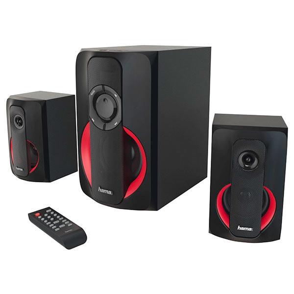 Boxe HAMA PR-2180, 2.1, 80W, Bluetooth, negru