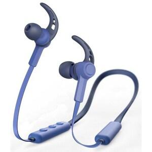Casti HAMA Neckband, 184059, Bluetooth, In-Ear, Microfon, albastru