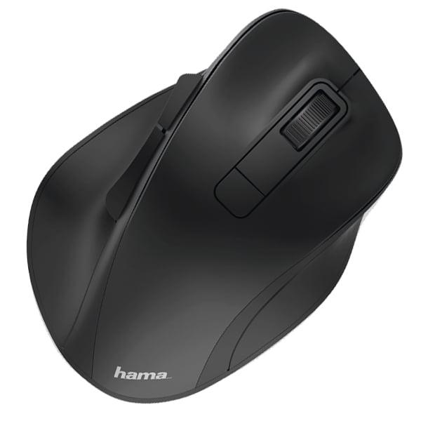Mouse Wireless HAMA MW-500, 1600 dpi, negru