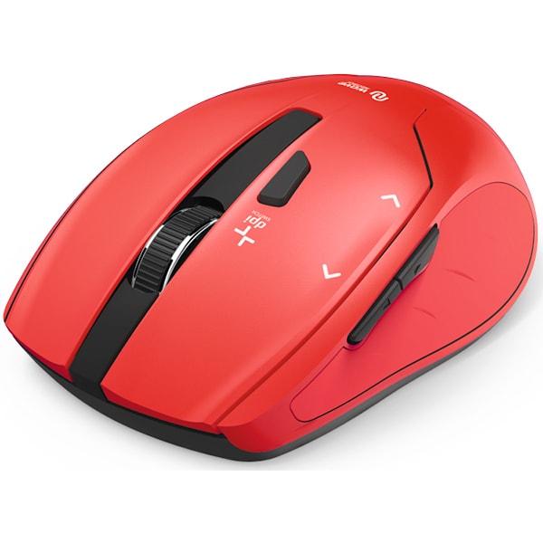 Mouse Wireless HAMA Milano 182640, 2400dpi, rosu