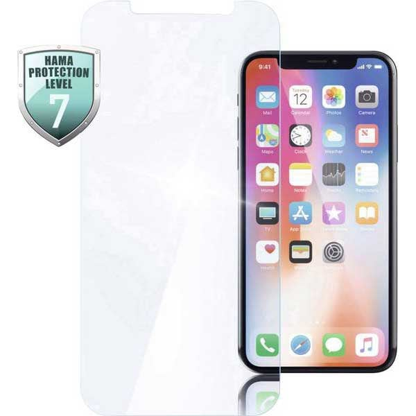 Folie Tempered Glass pentru Apple iPhone Xr, HAMA 183461, display, transparent